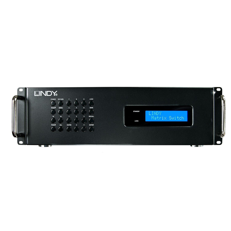 Modulare AV Matrix 16 x 16 Ports Basisgehäuse