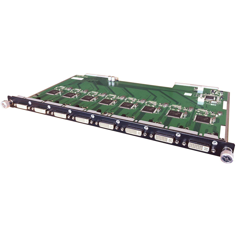 Modulare AV Matrix: 8 Port DVI Eingangsmodul