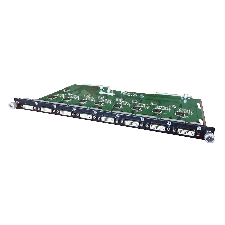 Modulare AV Matrix: 8 Port DVI Ausgangsmodul
