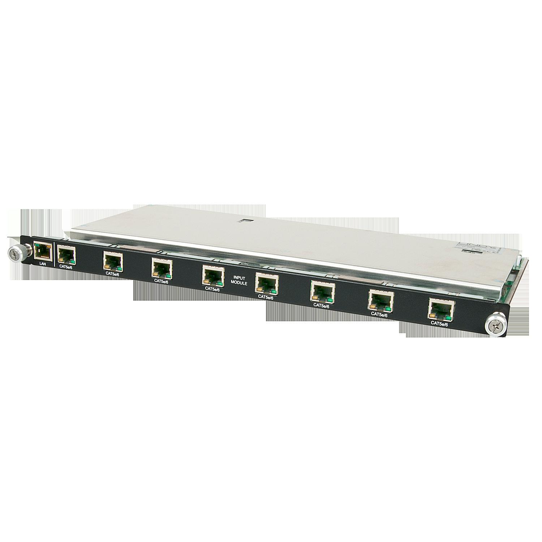 Modulare AV Matrix: 8 Port 4K UHD C6 HDBaseT 5Play Eingangsmodul