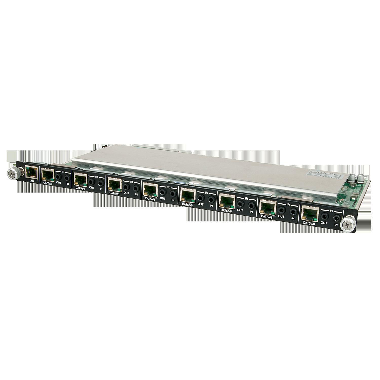Modulare AV Matrix: 8 Port 4K UHD C6 HDBaseT 5Play Ausgangsmodul