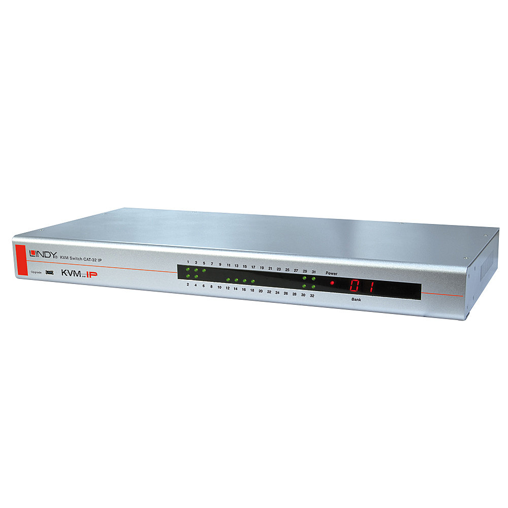KVM Switch CAT-32 IP, PS/2 & USB Konsole