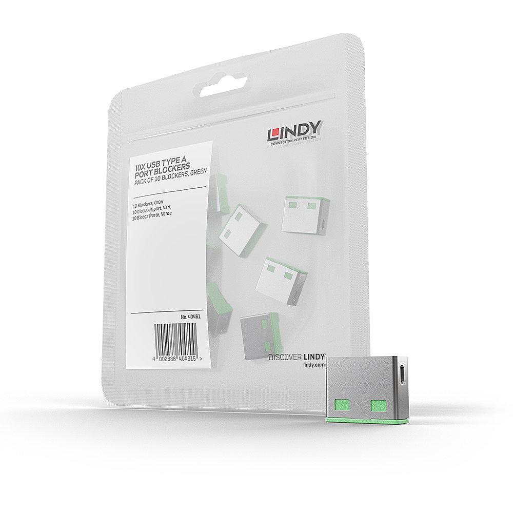 USB Port Schloss (10 Stück) OHNE Schlüssel: Code GRüN
