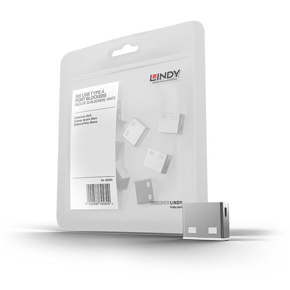 USB Port Schloss (10 Stück) OHNE Schlüssel: Code Weiß
