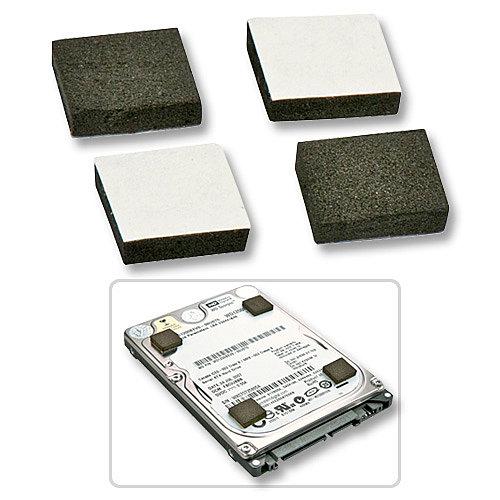 Abstandhalter zum Einbau von flacheren SSDs und Festplatten im höheren Einbauplatz