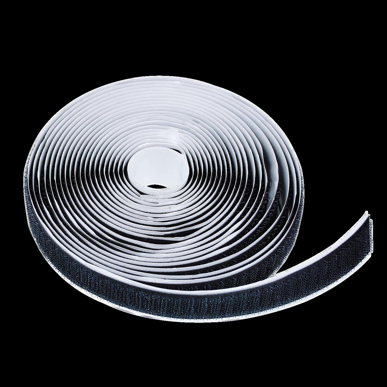 Selbstklebendes Klettband, 2x 5m