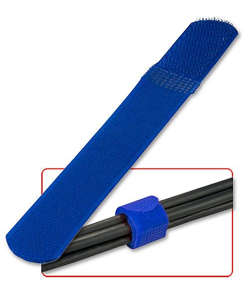 Klett - Kabelbinder, 10 St�ck, blau