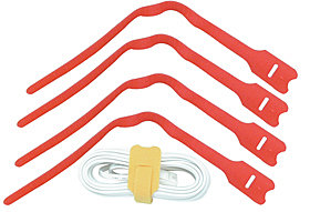 LWL Kabelbinder 30cm, rot