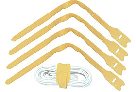 LWL Kabelbinder 30cm, gelb