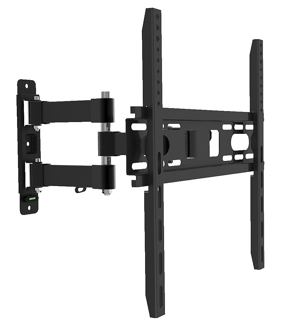 Monitor- und TV-Wandhalterung, schwenk- und neigbar