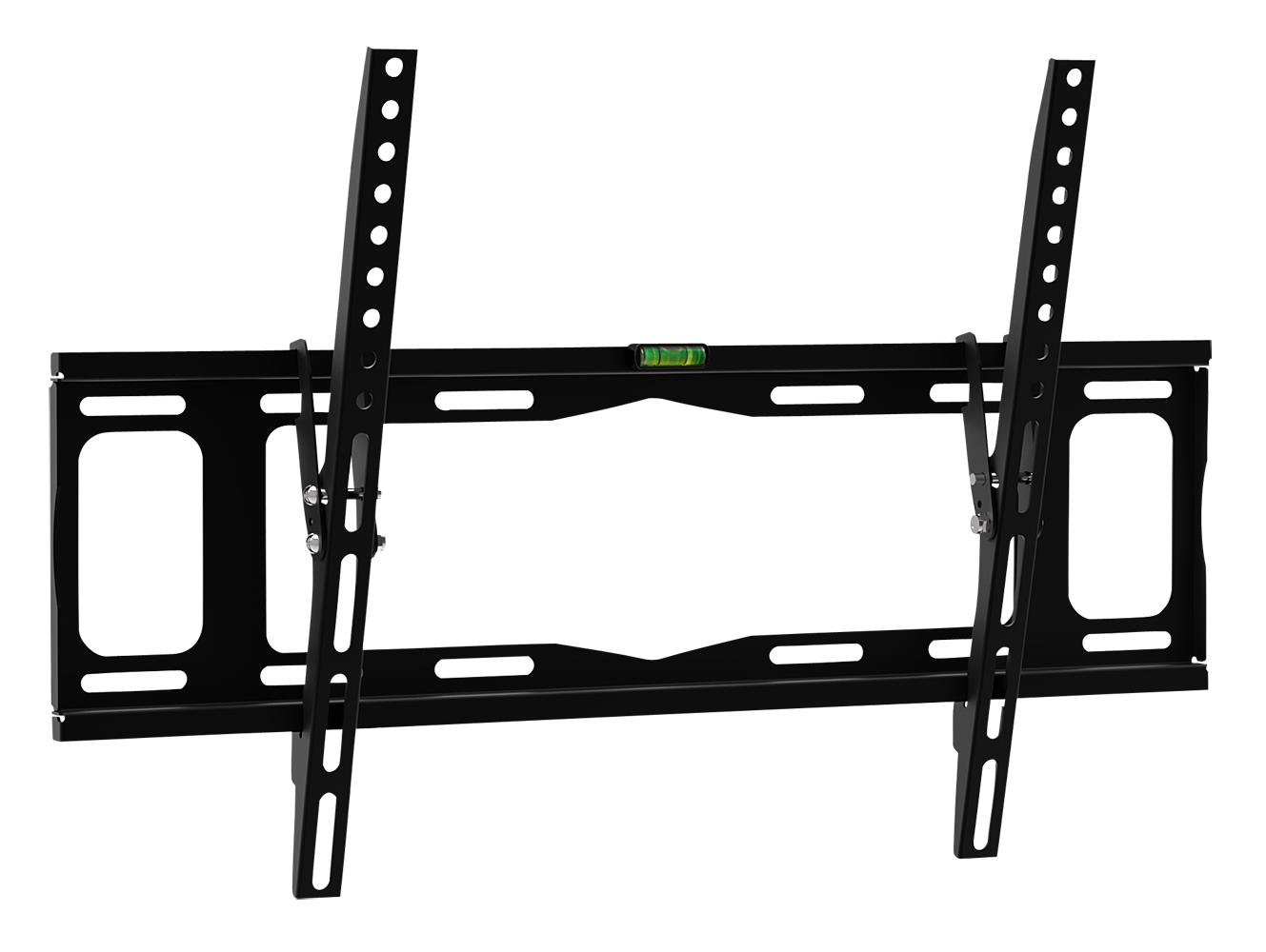 Monitor- und TV-Wandhalterung, flach und neigbar