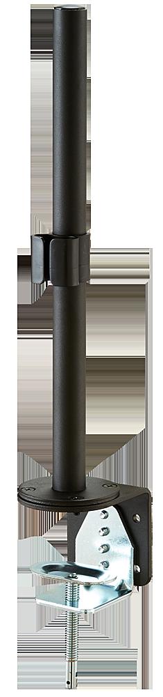 Tischhalterungsmodul 40cm, mit Klemmhalter