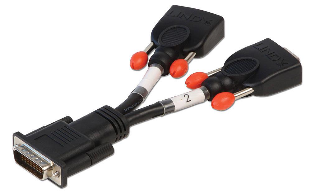 Adapterkabel DMS59 (LFH) auf 2x VGA Buchse