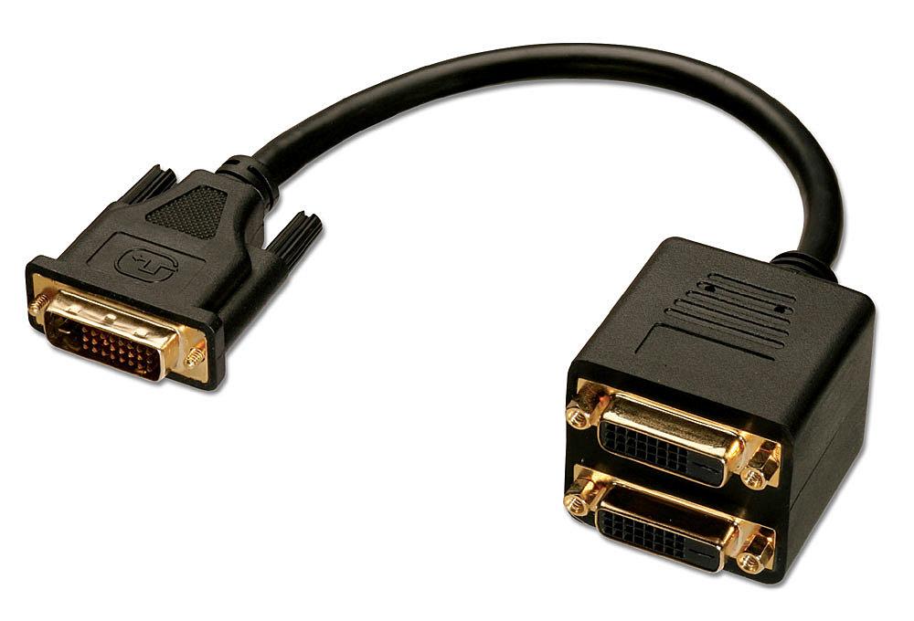 DVI-D Splitterkabel, 2 Port