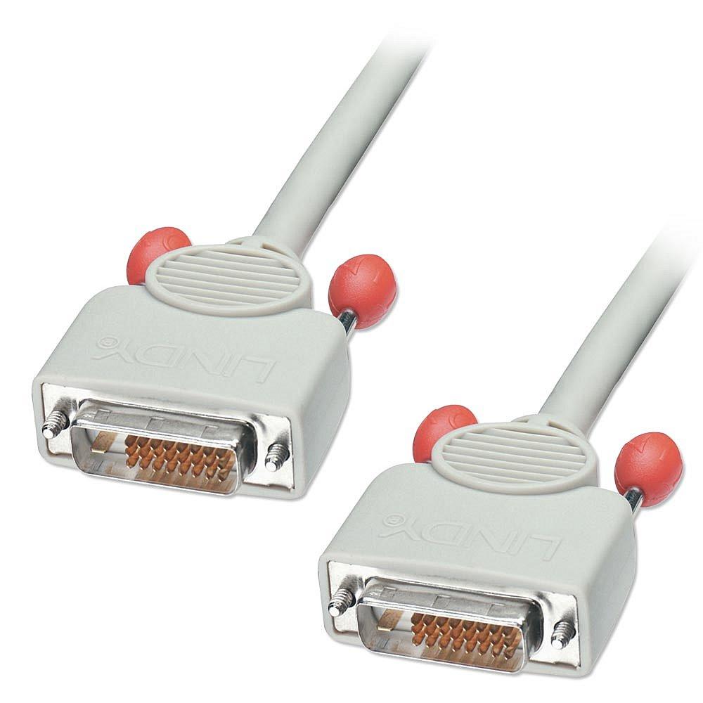 DVI Digital Dual Link Anschlusskabel Stecker/Stecker 1m