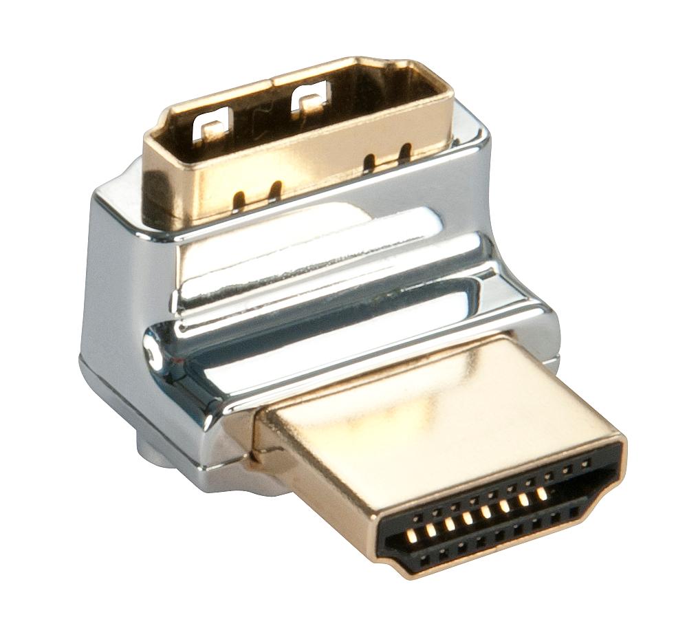 CROMO HDMI Adapter, 90 Grad Rauf