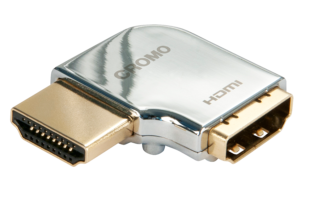 CROMO HDMI Adapter, 90 Grad Links