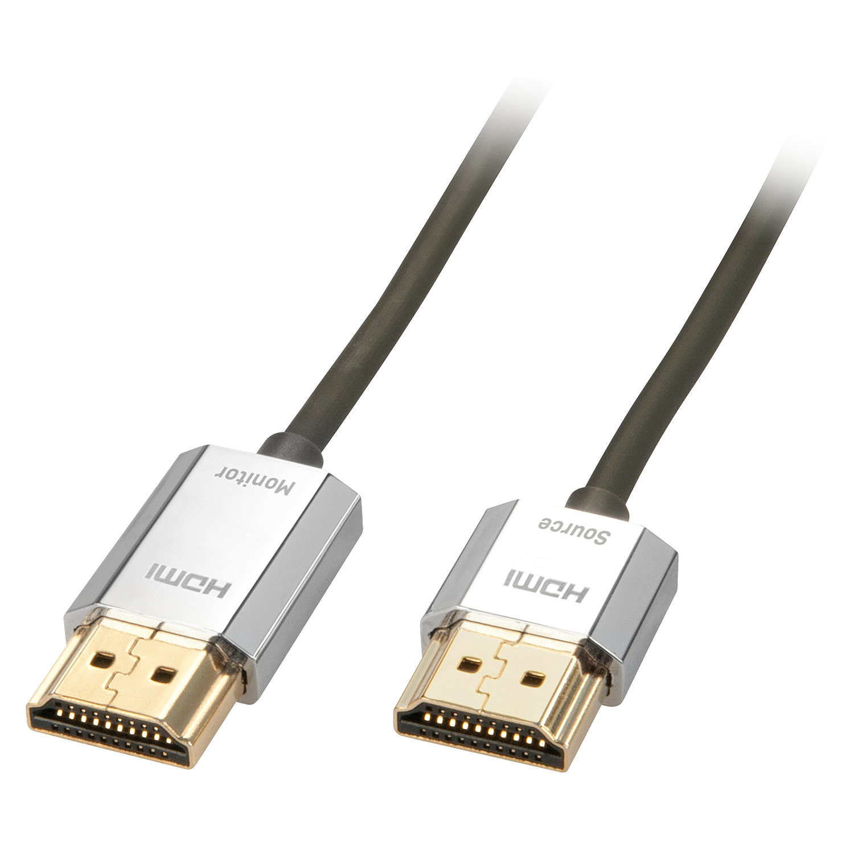 CROMO Slim HDMI High Speed A/A Kabel, 3m
