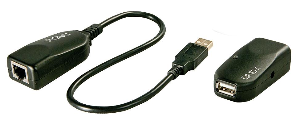 USB 2.0 Cat.5 Extender 50m Classic, 1Port