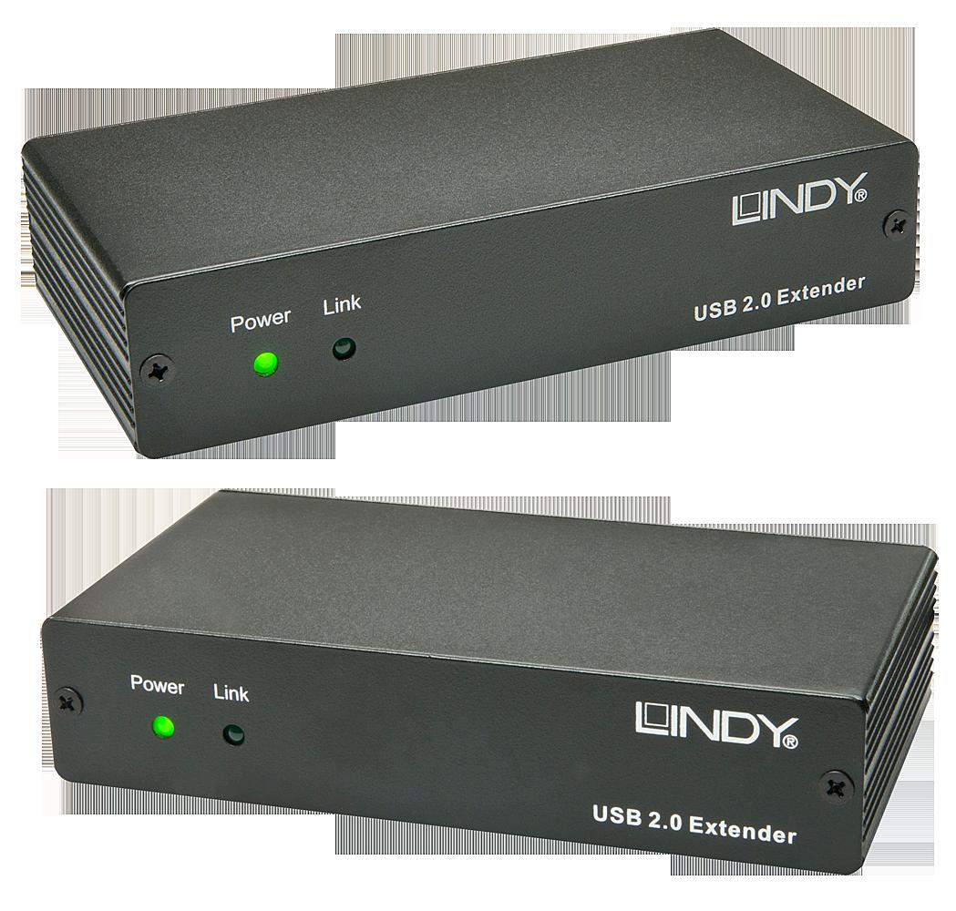 USB 2.0 LWL/Fibre Optic Extender 200m