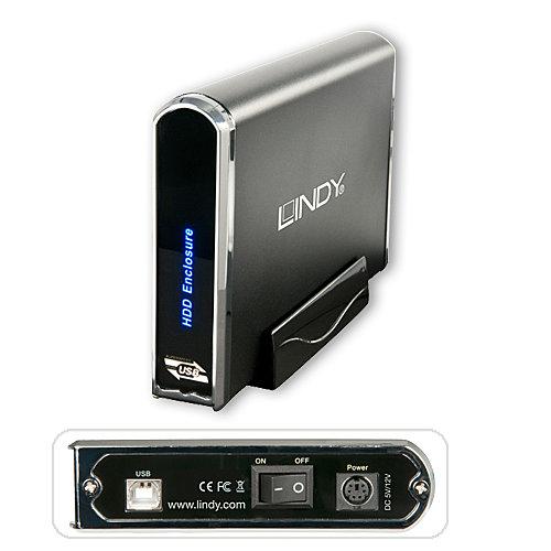 USB 2.0 Festplattengeh�use f�r 3,5 IDE & SATA Festplatten