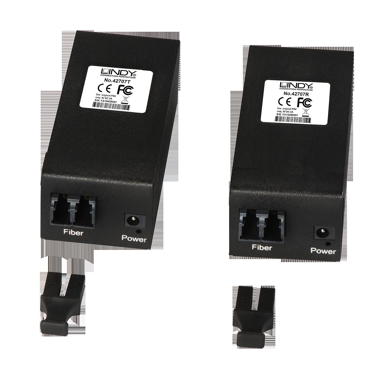 USB 3.1/3.0 LWL/Fibre Optic Extender 400m