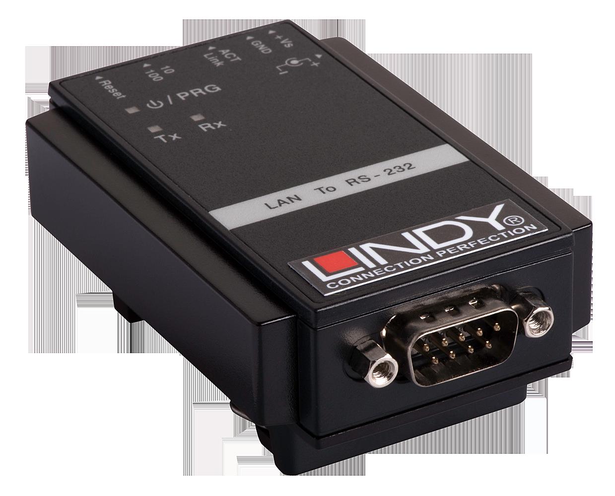 IP Serial Server 1 Port für Hutschiene