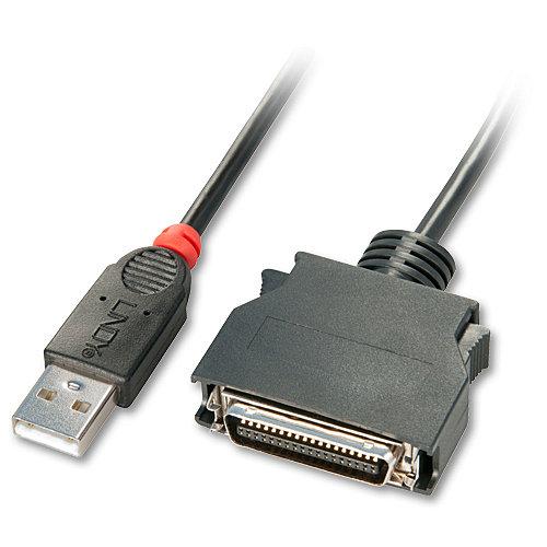 USB Parallel Konverter Mini Centronics