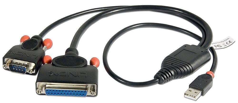 USB Seriell & Parallel Konverter