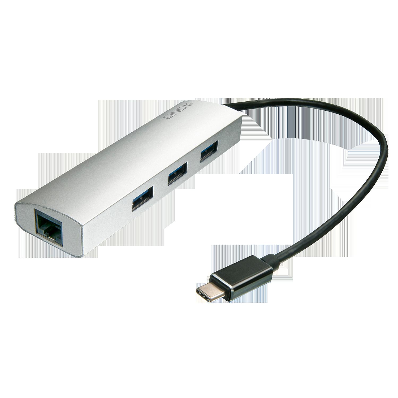 USB 3.1 Hub & Gigabit Ethernet Adapter
