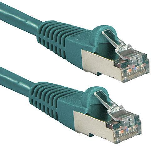 FTP Patch-Kabel Cat. 5e, gr�n, 0,5m
