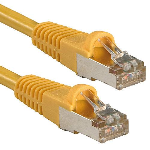 FTP Patch-Kabel Cat. 5e, gelb, 1,0m