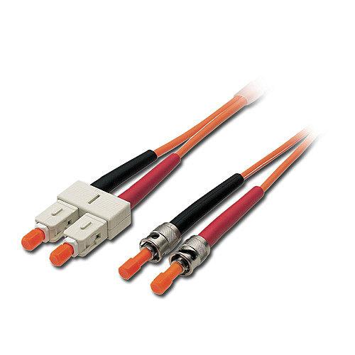 LWL Duplex Kabel ST/SC 62,5/125 �m Multimode, 10m