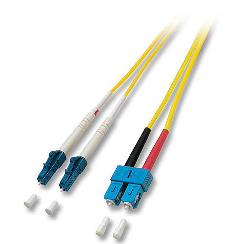 LWL-Duplex Kabel LC / SC 9/125 �m Singlemode, 10m