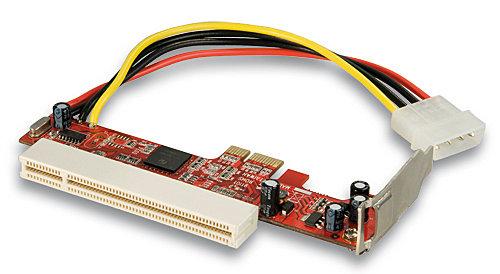 PCIe Adapter für eine Low Profile PCI Karte