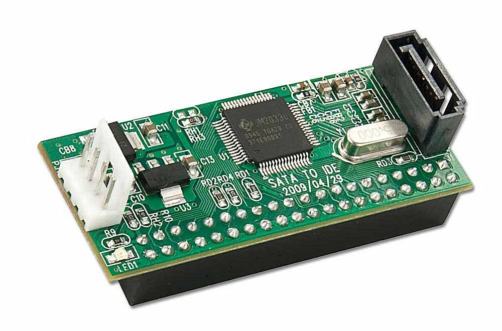 SATA Konverter f�r IDE Laufwerk Ultra-DMA / ATA-100/133