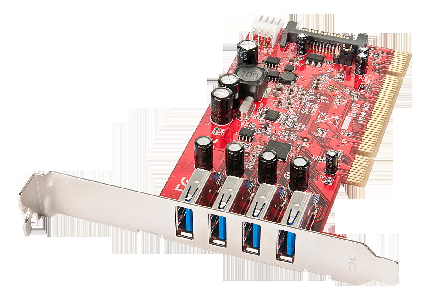 USB 3.0 Karte 4 Port, PCI