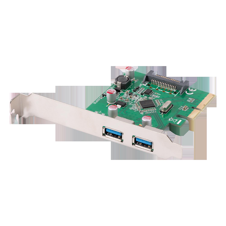 USB 3.1 Karte 2 Port, PCIe