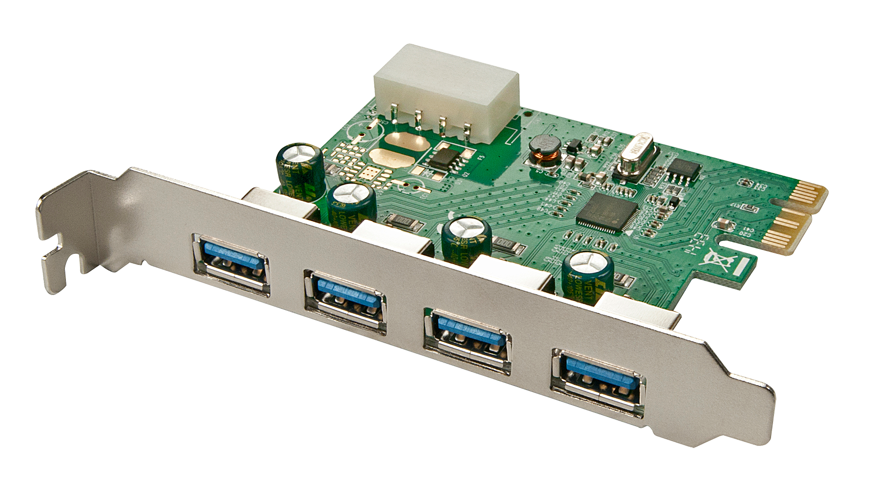 USB 3.0 Karte 4 Port, PCIe