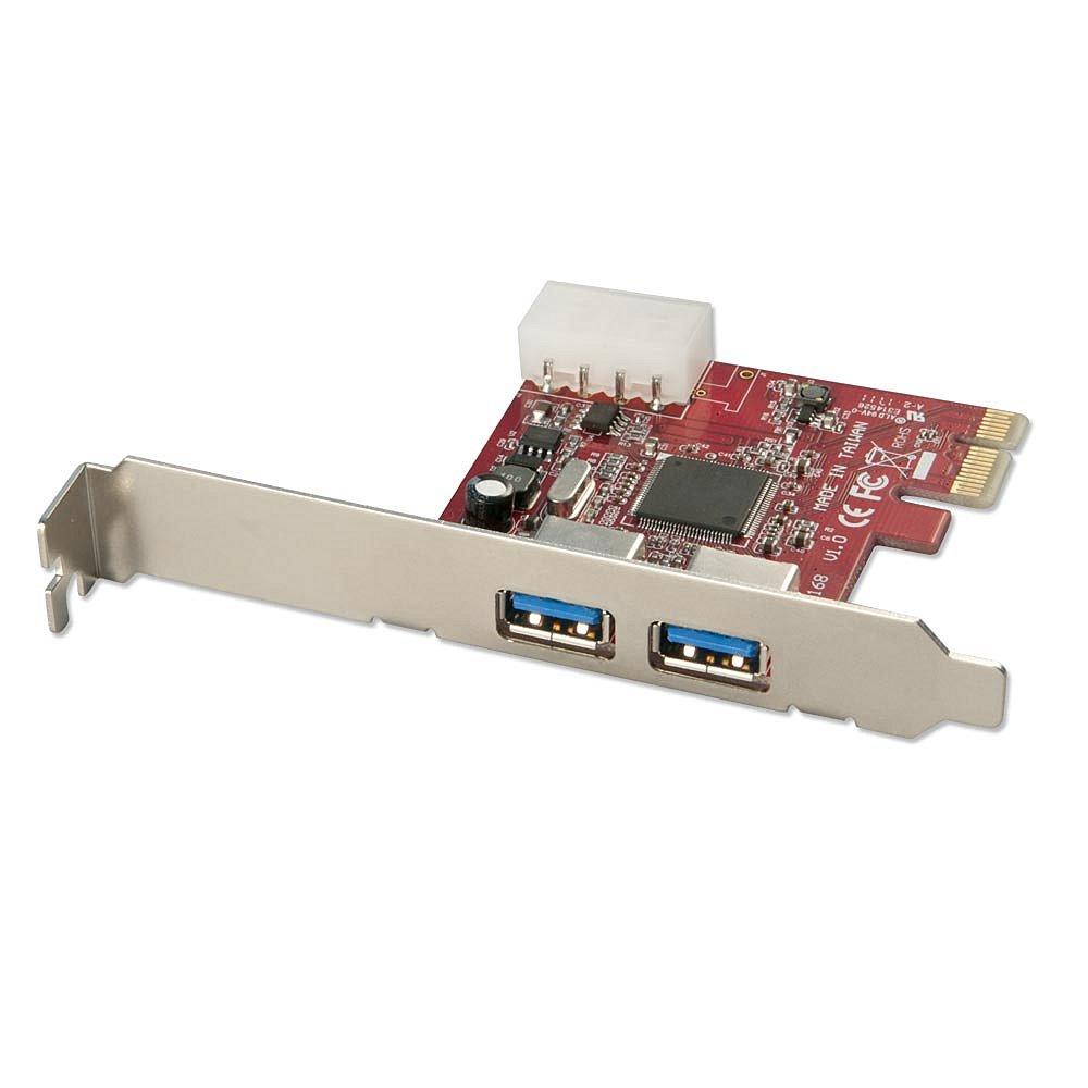 USB 3.0 Karte Lite, 2 Port, PCIe