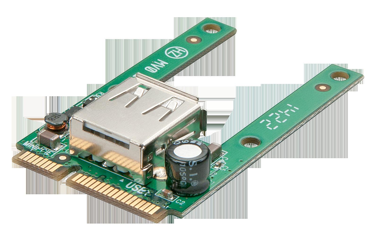 mPCIe an USB 2.0  Konverter