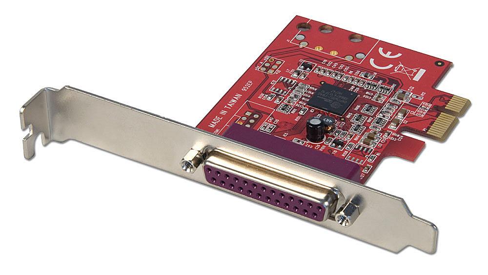 1P IEEE 1284 Parallel-Karte, PCIe