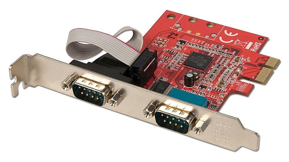 2S 16C950 Seriell-Karte, PCIe