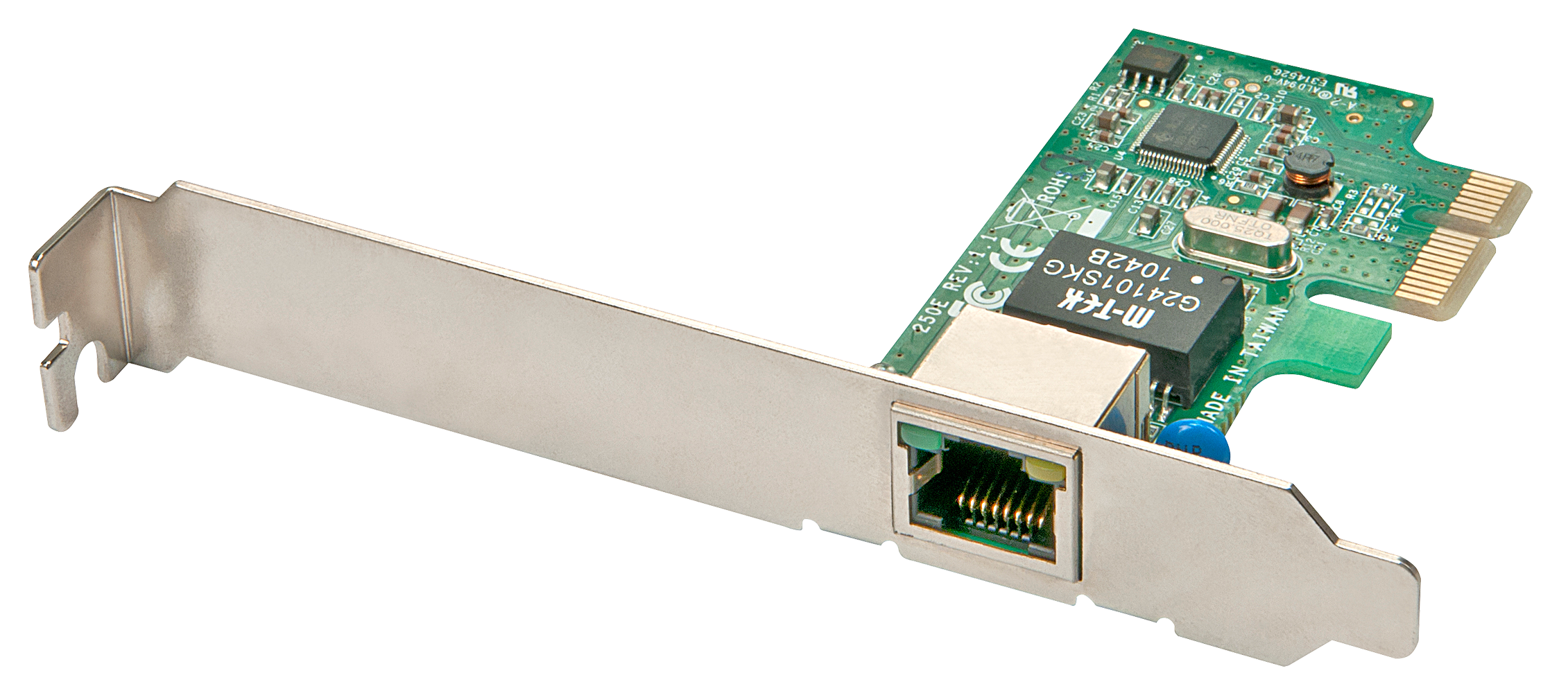 Gigabit Ethernet Karte 10/100/1000Base-T, PCIe