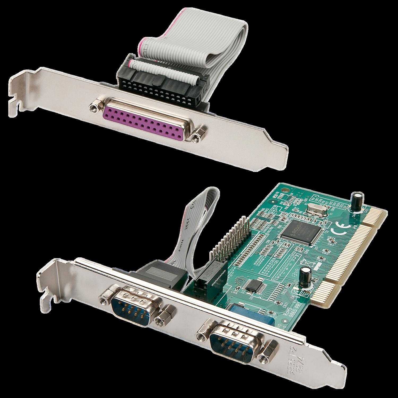 2S1P Karte 32 Bit, PCI