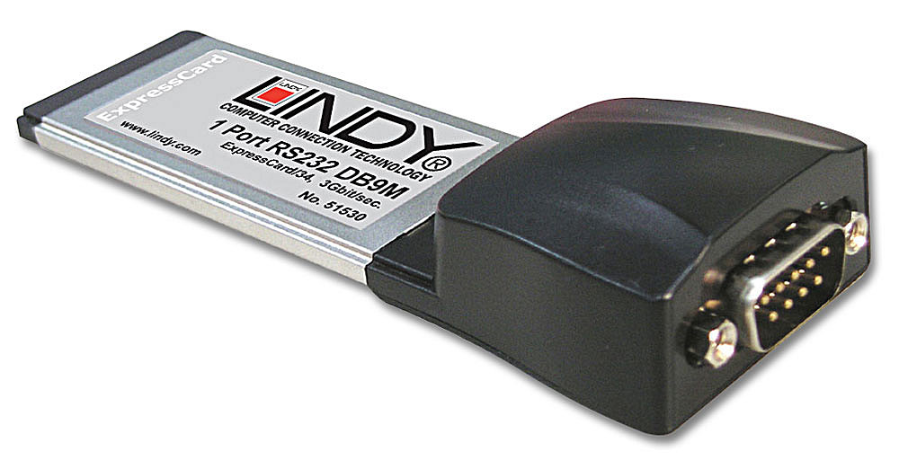ExpressCard RS232