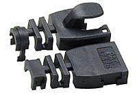 Kabelknickschutz STP/UTP, schwarz, 10er Pack