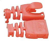 Kabelknickschutz STP/UTP, rot, 10er Pack