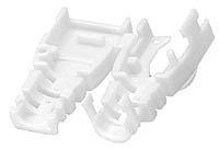 Kabelknickschutz STP/UTP, weiß, 10er Pack