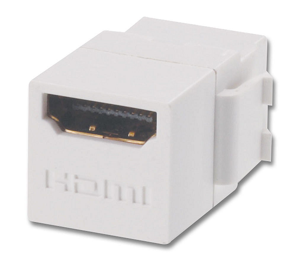 HDMI Doppelkupplungs-Keystone f�r Wanddosen